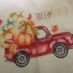Other - New! Fall Decor Pumpkin Pillow Case Cover